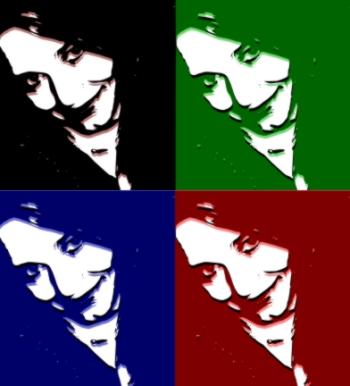 Suzan (Grafik erstellt mit Inkscape und Gimp)