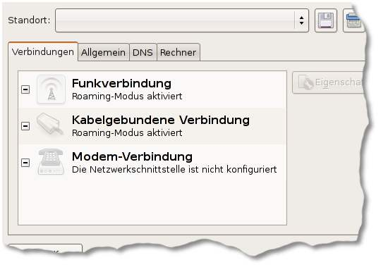 'Traditionelle' Netzwerkeinstellungen unter Ubuntu