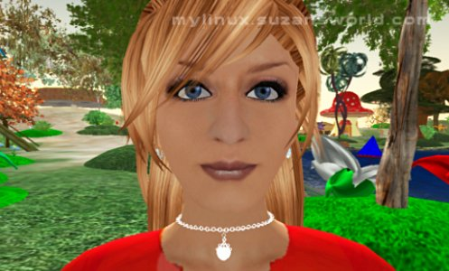 Second Life Avatar Suzan